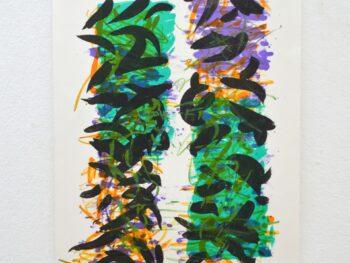 Lars Holbroe. H´s Hæk, litografi 51 x 38 cm